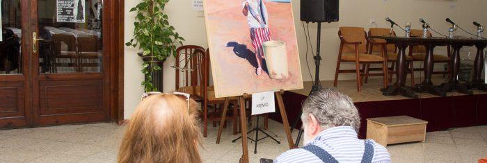 Obra de Claudia Suárez, ganadora de la III edición del Premio de Pintura Pepa Pinto