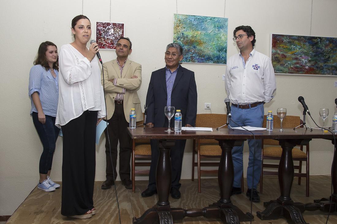 Homenaje a la enseñanza y la creación artística en el acto de entrega de premios del III Certamen Internacional de Pintura Pepa Pinto