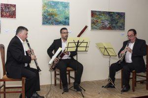 Actuación del Trío de Clarinetes y Fagot Holder