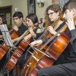 Otro momento del concierto de la Orquesta de Cámara Manuel de Falla