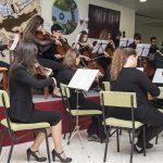Otro instante del concierto de la Orquesta Manuel de Falla