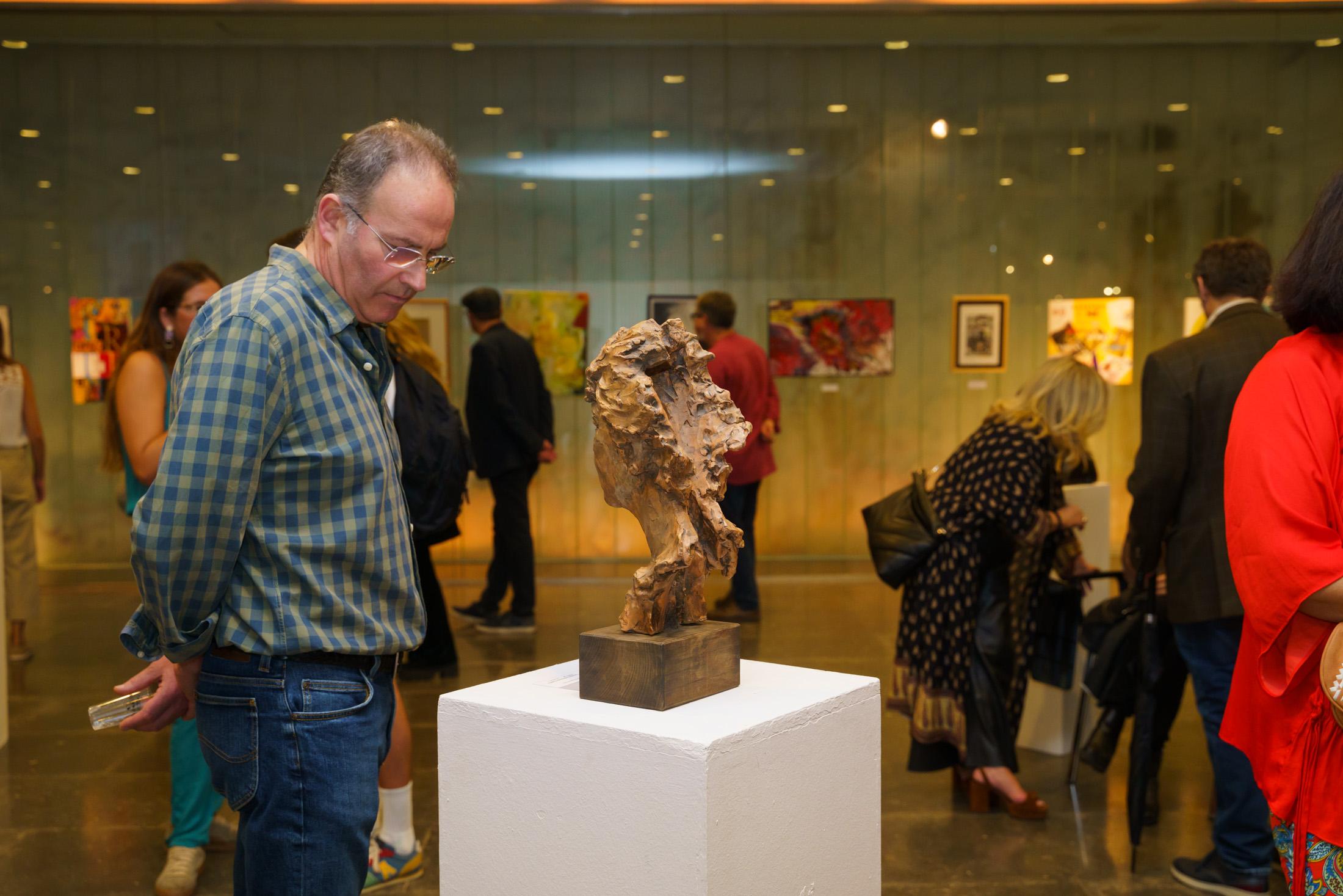 Una obra de Pepa Pinto forma parte de la exposición colectiva 'BBAA 88, Summa Artis, Summa Amicitia' en Sevilla